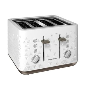 GRILLE-PAIN - TOASTER Grille-pain Morphy Richards M248102EE Prism Blanc