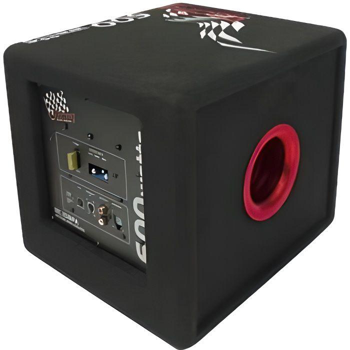 caisson de basses amplifies achat vente pas cher. Black Bedroom Furniture Sets. Home Design Ideas