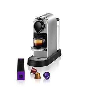 MACHINE À CAFÉ NESPRESSO CITIZ Machine expresso à capsules Silver