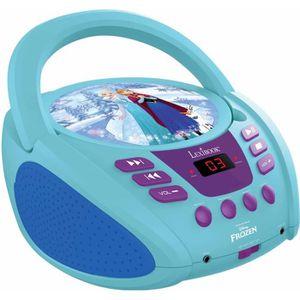 RADIO CD ENFANT LEXIBOOK - LA REINE DES NEIGES - Radio Lecteur CD