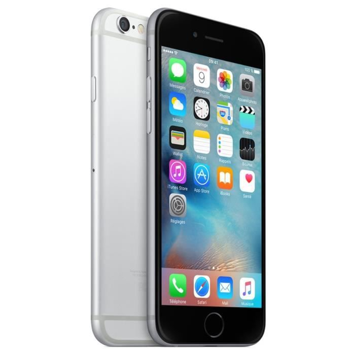 iphone 6 plus apple apple iphone 6 plus 128 go gris sid 233 ral achat smartphone 15020