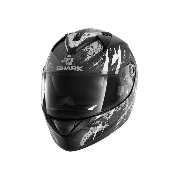 CASQUE MOTO SCOOTER SHARK Casque moto intégral Ridill Threezy - Gris