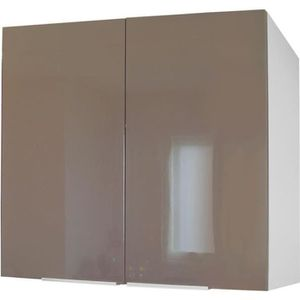 meuble haut cuisine blanc laque achat vente pas cher. Black Bedroom Furniture Sets. Home Design Ideas