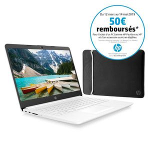 ORDINATEUR PORTABLE HP PC Portable 14-cf0038nf - 14
