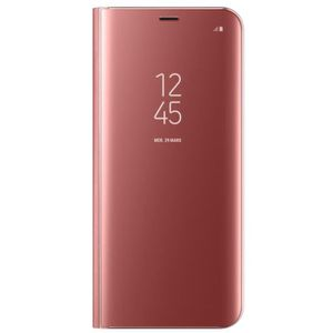 HOUSSE - ÉTUI Samsung Clear View Cover Stand S8+ Rose