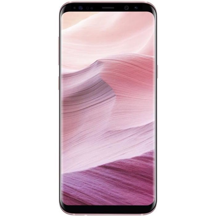 SMARTPHONE Samsung Galaxy S8+ Rose Poudré