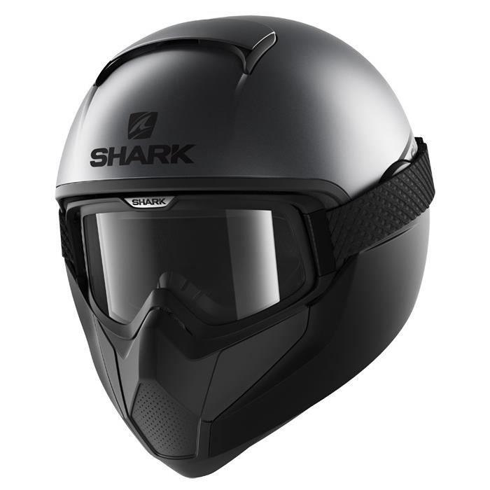CASQUE MOTO SCOOTER SHARK Casque moto intégral Vancore néon - Noir et