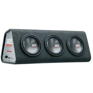 SUBWOOFER VOITURE MTX RTP8x3 Caisson Amplifié Classe-D avec 3 Subwoo