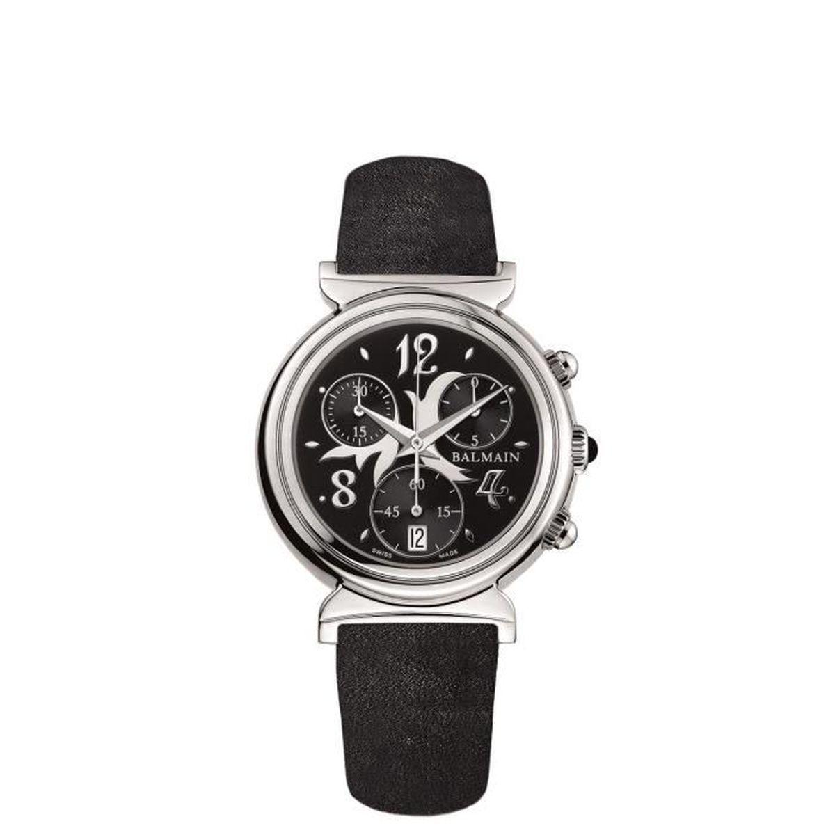 Balmain Logo Baskets Touch-bracelet - Noir AE2q1Ezq