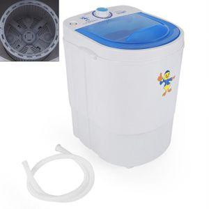 MINI LAVE-LINGE machine à laver de 7 lbs mini laveuse machine à la