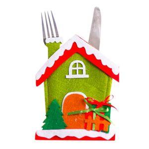 MÉNAGÈRE mosakog® Noël et sac fourchette Ménagère Père Noël