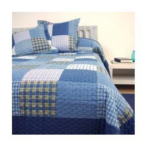 boutis bleu achat vente pas cher. Black Bedroom Furniture Sets. Home Design Ideas