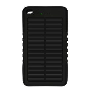 BATTERIE EXTERNE NOIR 8000mAh Batterie Externe Chargeur Solaire Pow