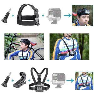 PACK CAMERA SPORT Accessoire de Sport 16-en-1 Kit pour GoPro Hero4 S