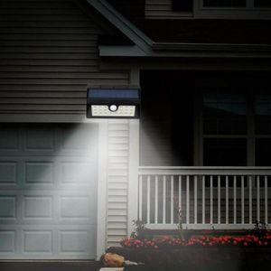 APPLIQUE EXTÉRIEURE  Mpow Lampe Solaire LED Etanche Faro Lumiere 8 LED