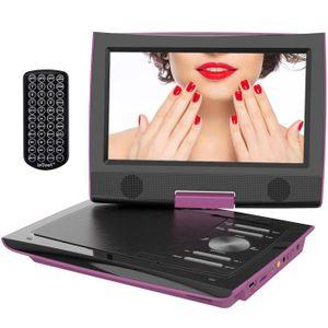 LECTEUR DVD ENFANT ieGeekLecteur DVD portable 11,4 '' avec écran pivo