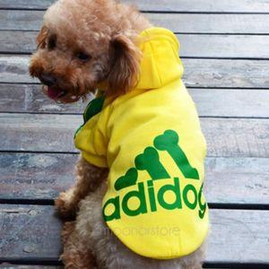 ROBE - JUPE Adidog Patterned chauds à capuche pour toutous, de