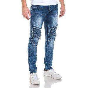 purchase cheap 87d9e 514a9 jean-homme-slim-bleu-delave-destructure-avec-tache.jpg
