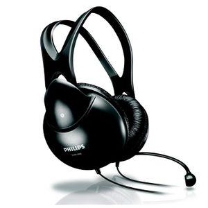 CASQUE  - MICROPHONE Philips casque-micro stéréo pour PC SHM1900