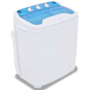 LAVE-LINGE vidaXL Washer-spin dryer indépendant largeur : 57.