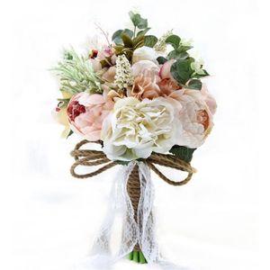 BOUQUET MARIÉE TISSU Bouquet de mariage mariée mariée Broche bouquet de