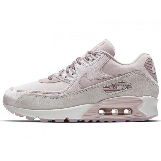 Nike - Baskets WMNS Air Max 90 LX - 898512 Rose Rose - Achat / Vente basket