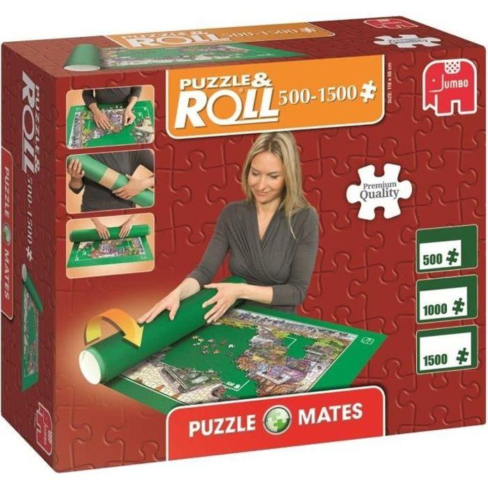 JUMBO - Tapis pour Puzzle, jusqu'à 1500 pièces - Puzzl&Roll