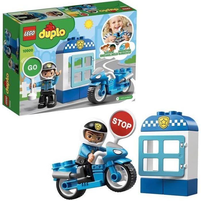 LEGO® DUPLO® 10900 La Moto de Police