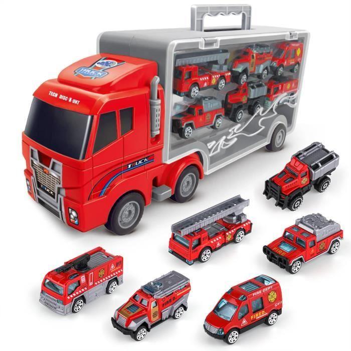 CAMION ENFANT Cars Pixar #1pc camions et 7pcs voitures Modèle Jo