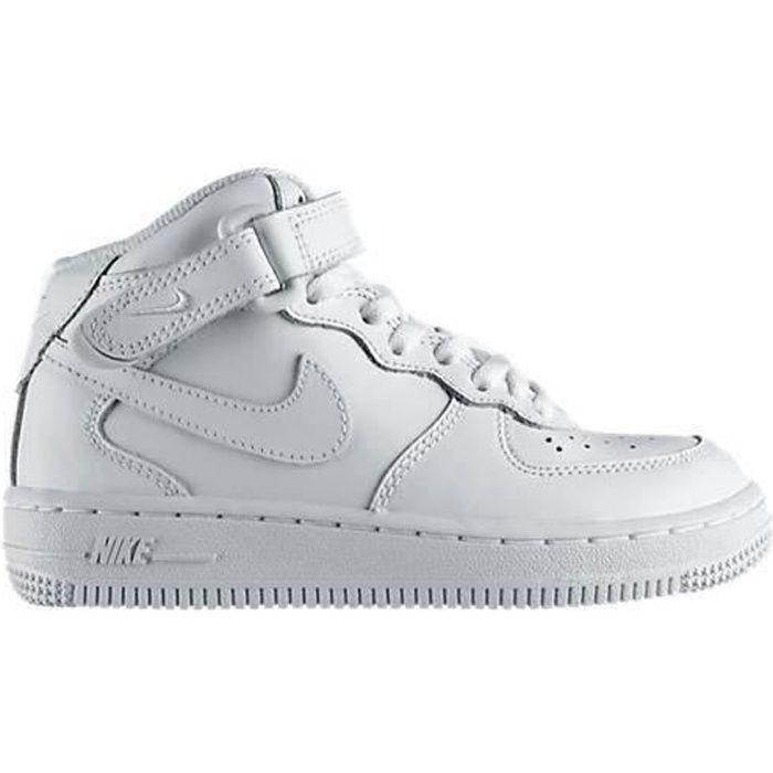BASKET Basket Nike Air Force 1 Blanc Mi…