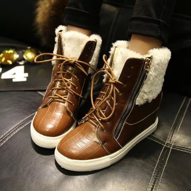 bottes d'hiver bottes un anti- peluches Martin bottes plus élevés.