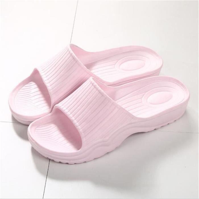 Femme Sandales Marque De Luxe Haut qualité Confortable Antidérapant Cool Poids Léger Femme Sandale Durable Grande Taille 35-39 ESn5ER