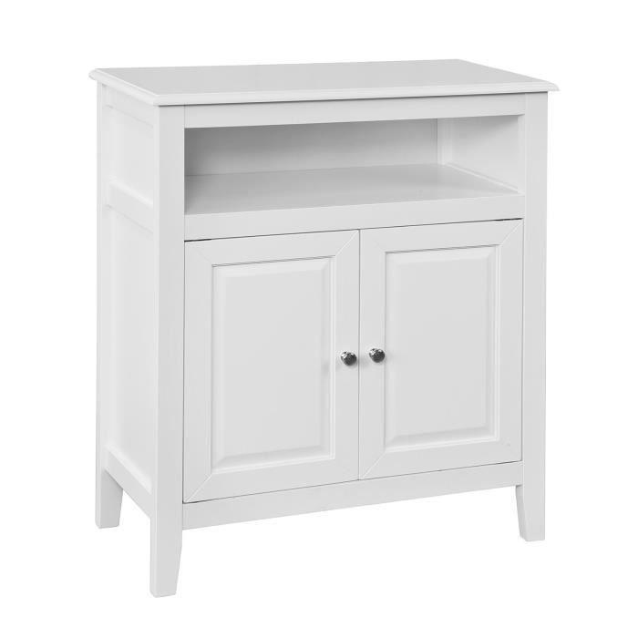 sobuy 174 frg204 w meuble bas de salle de bain armoire