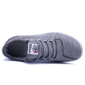 Basket Homme Ultra Léger Chaussures De Sport Casual DTG-XZ131Noir43 6HEm5G