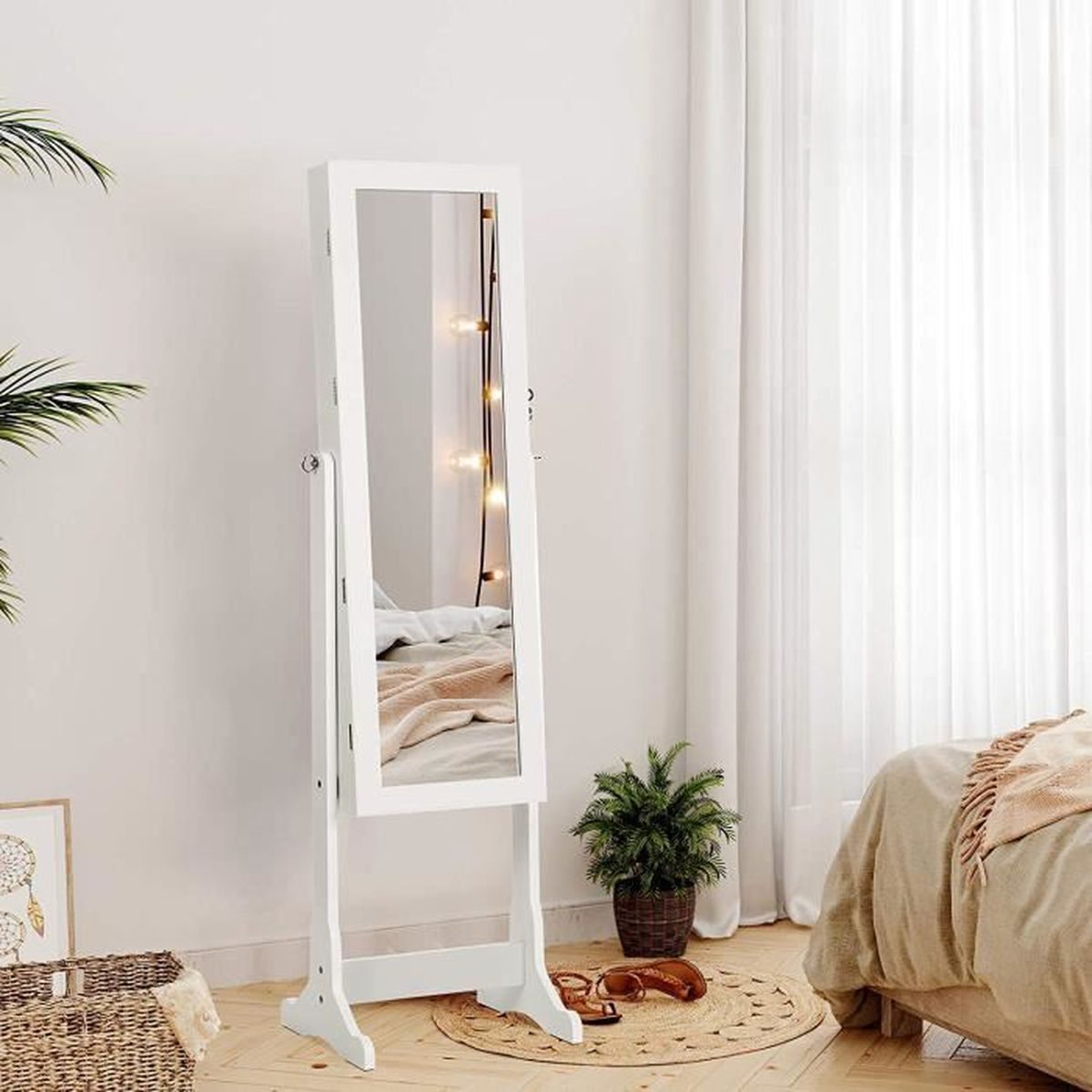 armoire bijoux achat vente pas cher soldes d s le. Black Bedroom Furniture Sets. Home Design Ideas