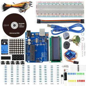 PC EN KIT UNO Project Basic Starter Kit with UNO R3 1602 LCD