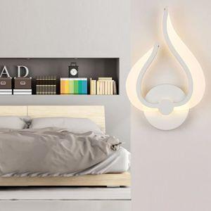 APPLIQUE  9W LED Acrylique Mur lampe Moderne Applique Murale