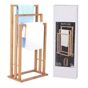 porte serviette bois salle de bain achat vente pas cher. Black Bedroom Furniture Sets. Home Design Ideas