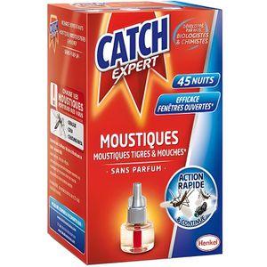DIFFUSEUR DE PARFUM CATCH Recharge Diffuseur Electrique Anti-moustique