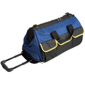 SACOCHE - SAC A DOS Valise Trolley à Roulettes sac de outil à ouvertur