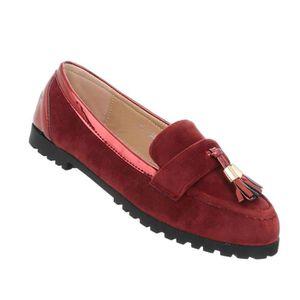 MOCASSIN Chaussures femmes mocassins moderne gris 41