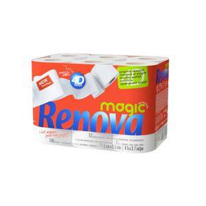 PAPIER TOILETTE RENOVA Papier toilette 4D Magic - Lot de 12 roulea