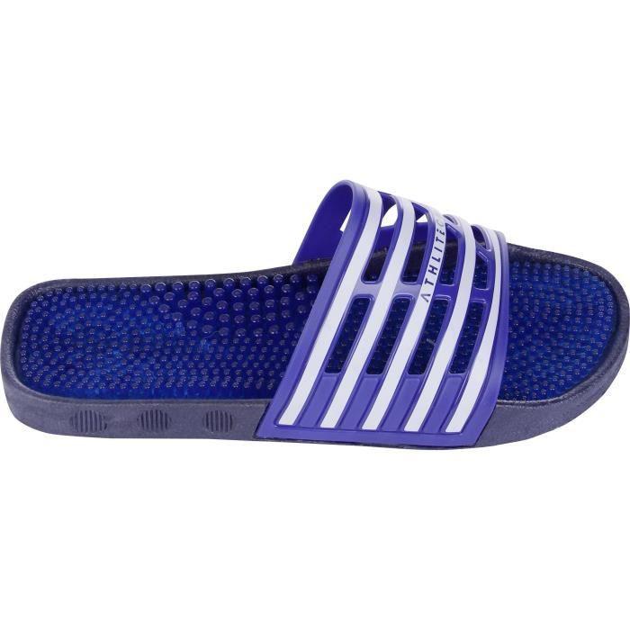 ATHLI-TECH Sandalettes Piscine Picots Homme Bleu
