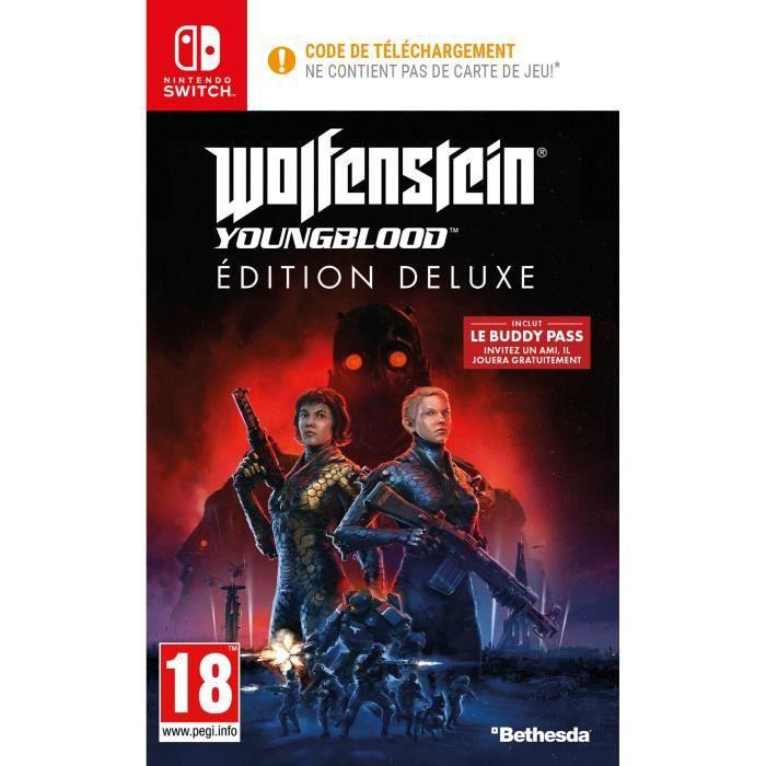SORTIE JEU NINTENDO SWITCH Wolfenstein II: Youngblood Deluxe Edition Jeu Swit