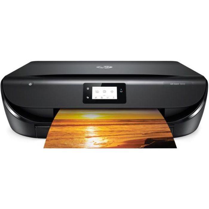 HP Imprimante tout-en-un Envy 5010 - Wi-Fi - Couleur + impression gratuite de 300 pages / mois