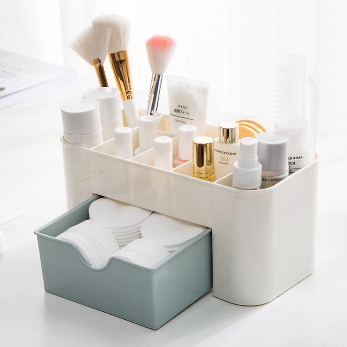 organiseur rangement maquillage tiroir en plastique pour cosm tiques pour salle de bain. Black Bedroom Furniture Sets. Home Design Ideas