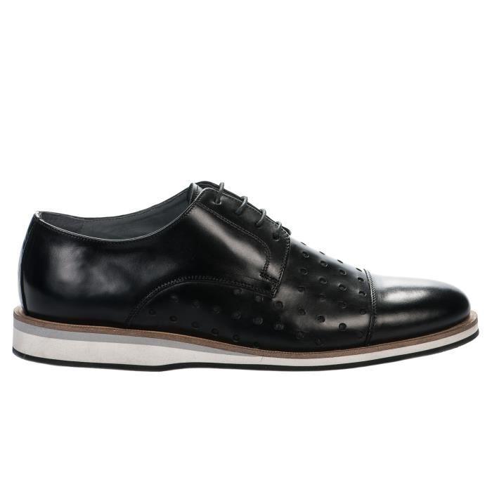 Chaussures à lacet hommeNoirMillim