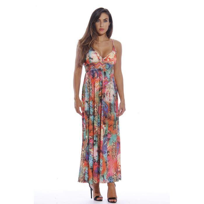 Craze femmes gradient losange robe sans manches réversible YDLKD