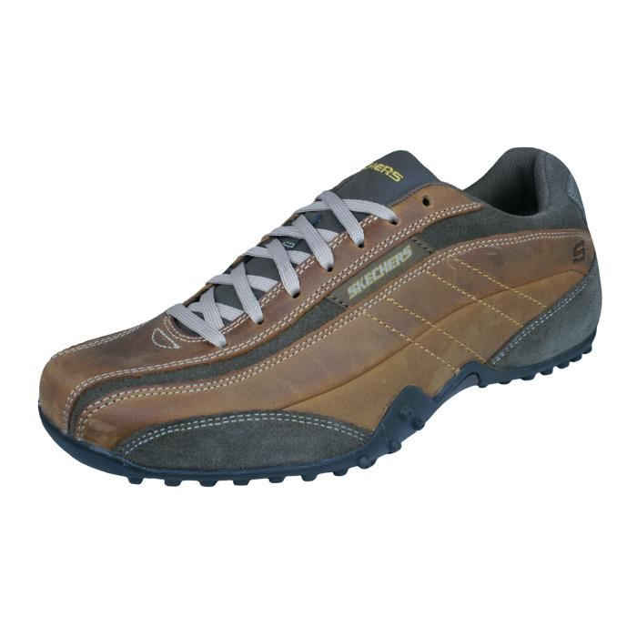 Skechers Urbantrack Imperial Chaussures de course pour hommeMarron 11