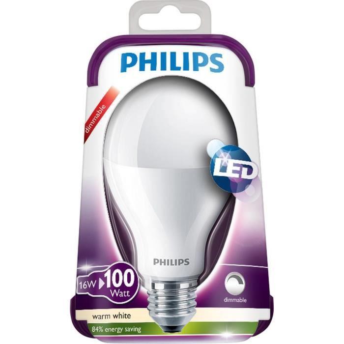 philips ampoule led e27 16w equivalence 100w Résultat Supérieur 15 Nouveau Ampoule Led 100w Stock 2017 Xzw1